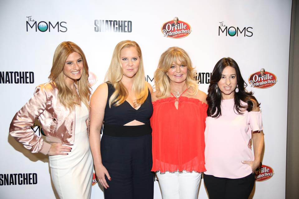 A (FEW) MINUTES WITH THE MOMS: AMY SCHUMER AND GOLDIE HAWN